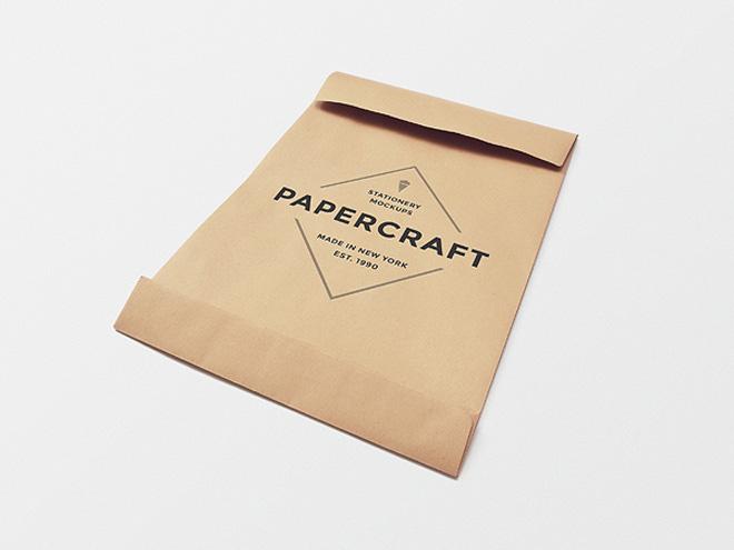 Big Papercraft Envelope Mockup