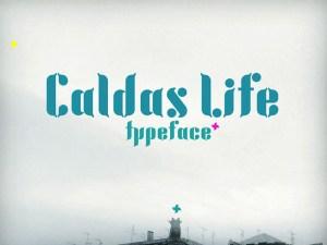 Caldas Life - Free Font