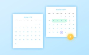 Date Picker UI Design