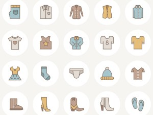 Free Vector Fashion Icon Set