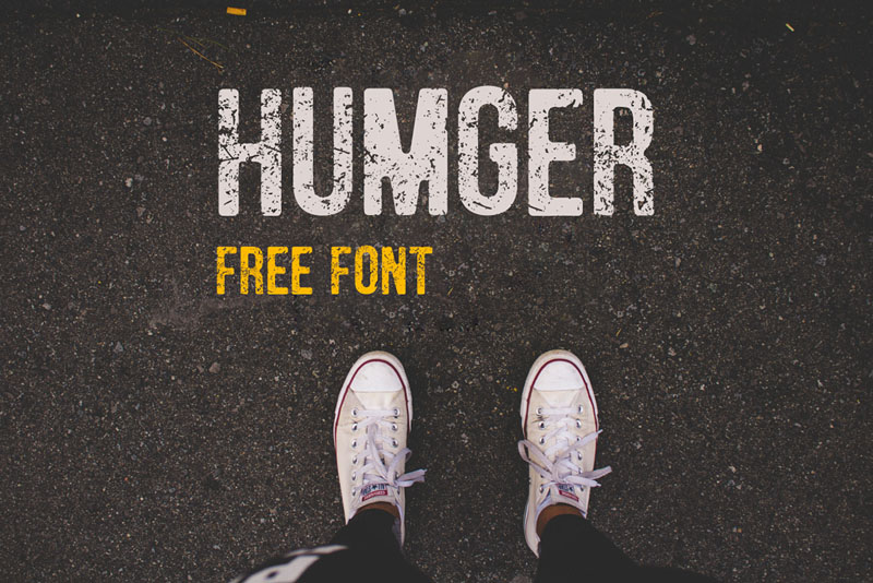 Humger Free Typeface