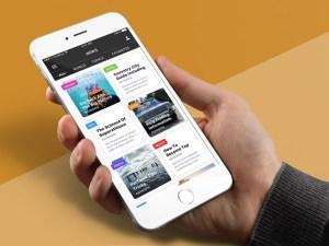News Feed App UI