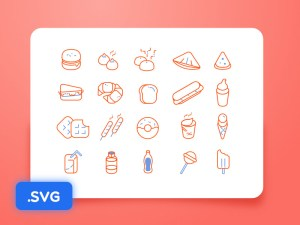 Free Outline Food icon