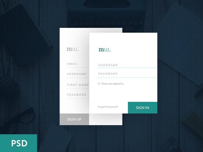 Simple Login Form UI