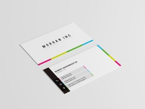 Simple and Colorful Business Card Template
