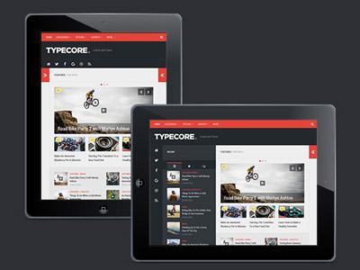 Typecore : Free Magazine WordPress Theme