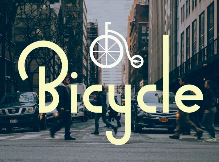 Bicycle Free Typeface