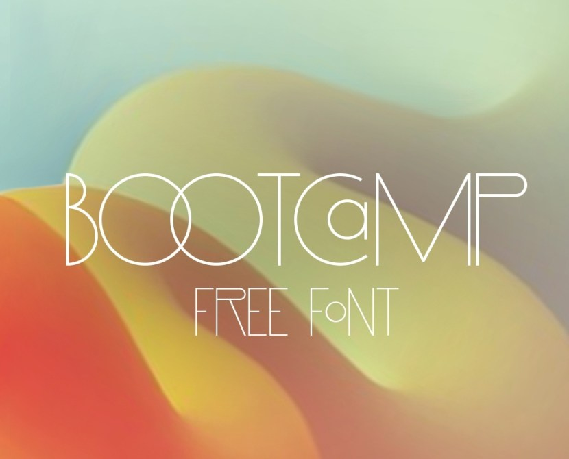Bootcamp Classy Font for Poster