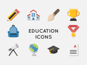 40 Free Education Icons