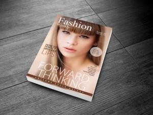 Free Fashion Magazine Cover Template