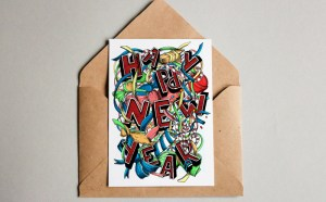 Free New Year Card Postcard
