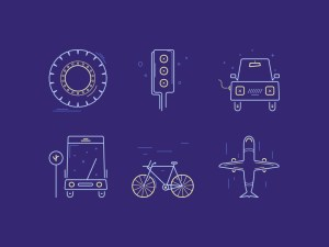 Free Transportation Icon Set