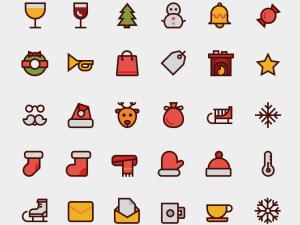 Free Winter Icon Set