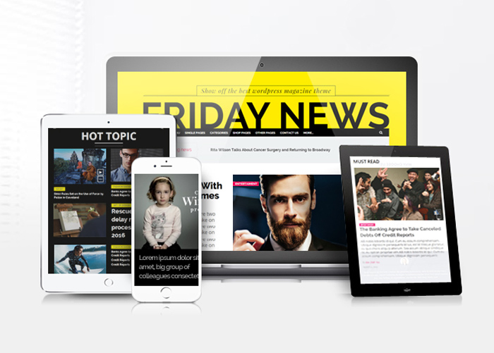Friday News : Free News Magazine WordPress Theme