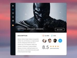 Free Gaming Widget UI