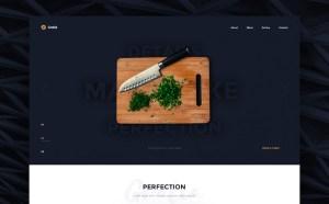 Gratia : Free Restaurant Web Template
