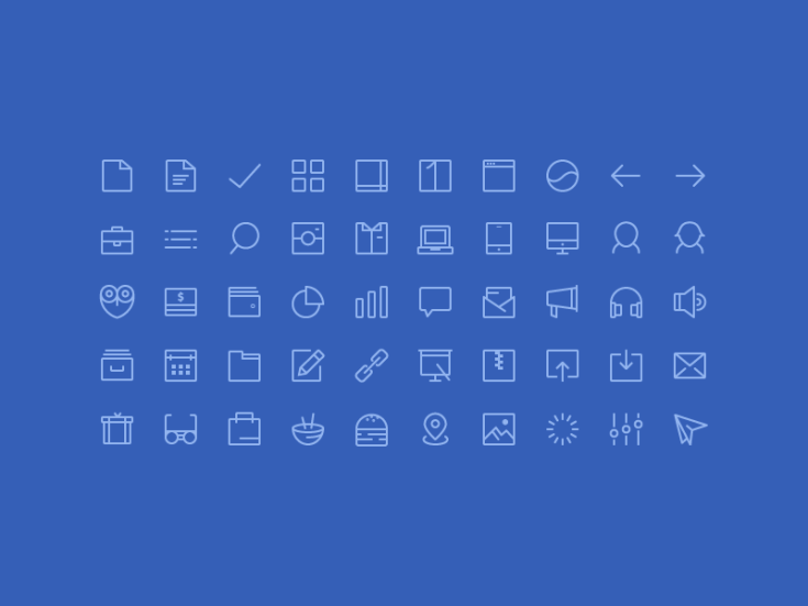 Free Little Icon Set AI