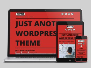 Ruffie : Comic Style Wordpress Theme