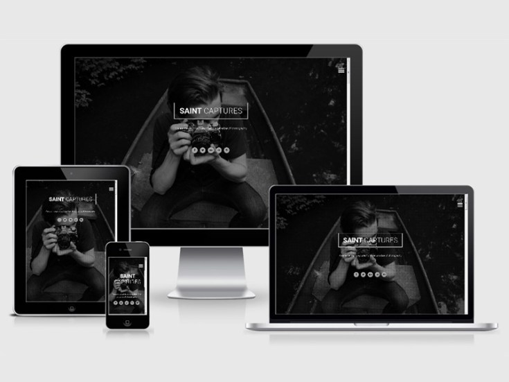 Saint : Photography HTML5 Template