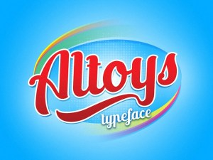 Altoys Script Typeface
