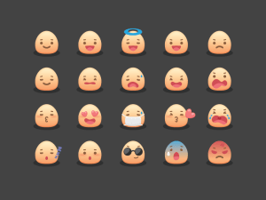 Mojicon : Free Cute Emoticon Icons
