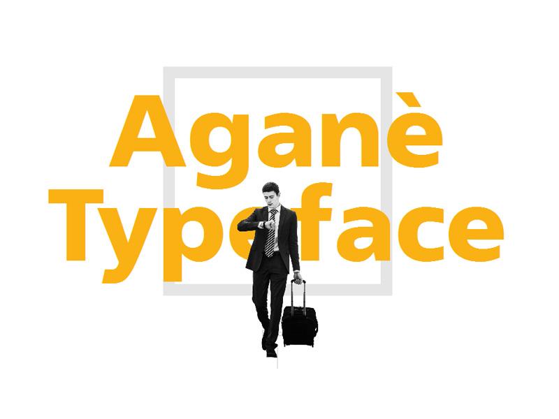 Aganè Free Typeface