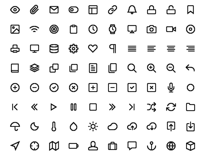 Feather: 130 Free Simple Icons