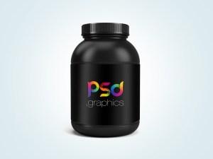 Free Jar Packaging Mockup PSD