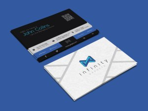 Infinity Business Card Template