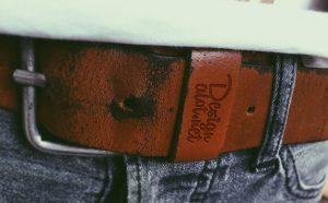 Free Leather Belt Mockup PSD