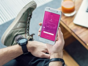 Free Mobile Login Screen UI