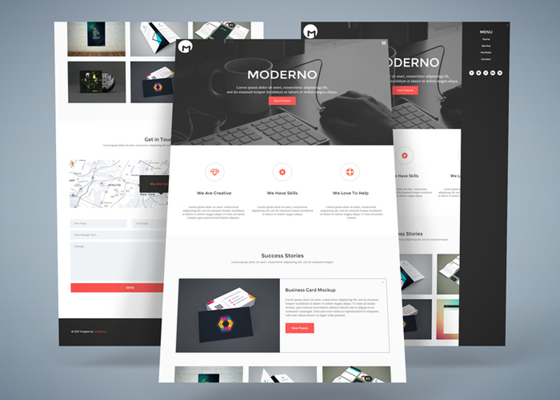 Moderno – Business HTML5 Responsive Template