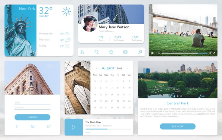 New York UI Kit