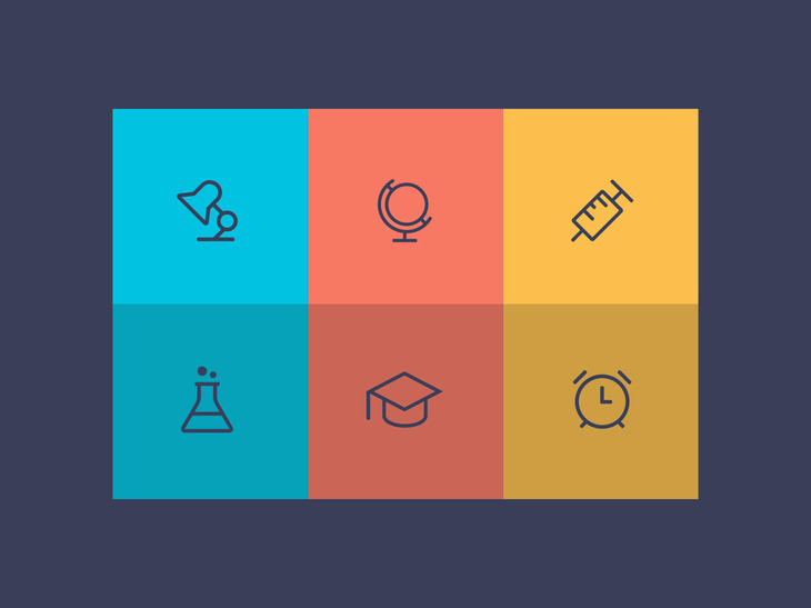 Outline Education Icon