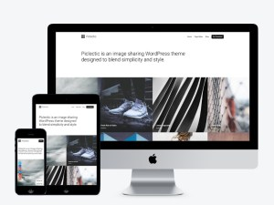 Piclectic Wordpress Theme