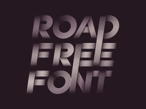Road Street Inspired Typeface