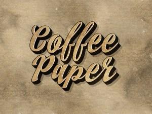 Free Vintage Coffee Paper Textures