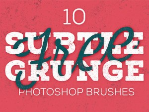 Subtle Grunge Texture Brush