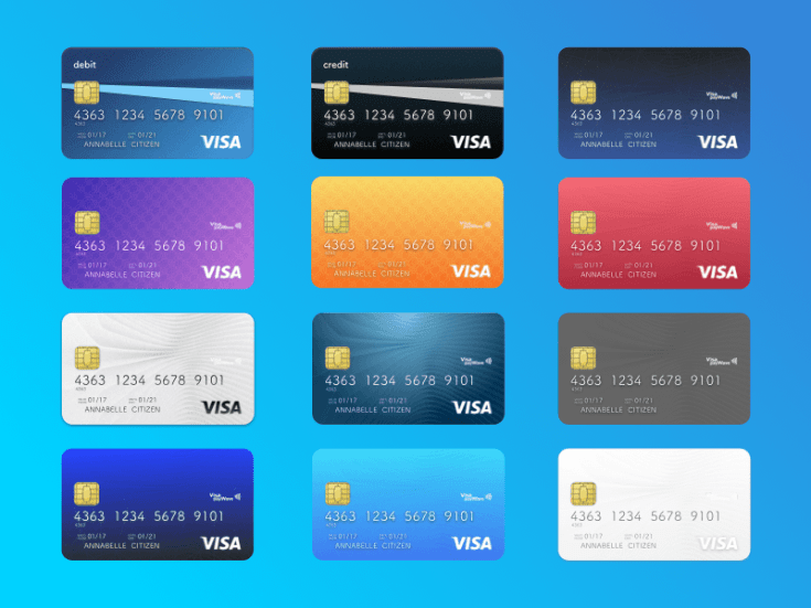 Free Credit Card and Debit Card Designs