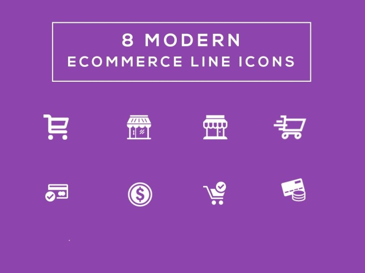 Free Ecommerce Line Icons