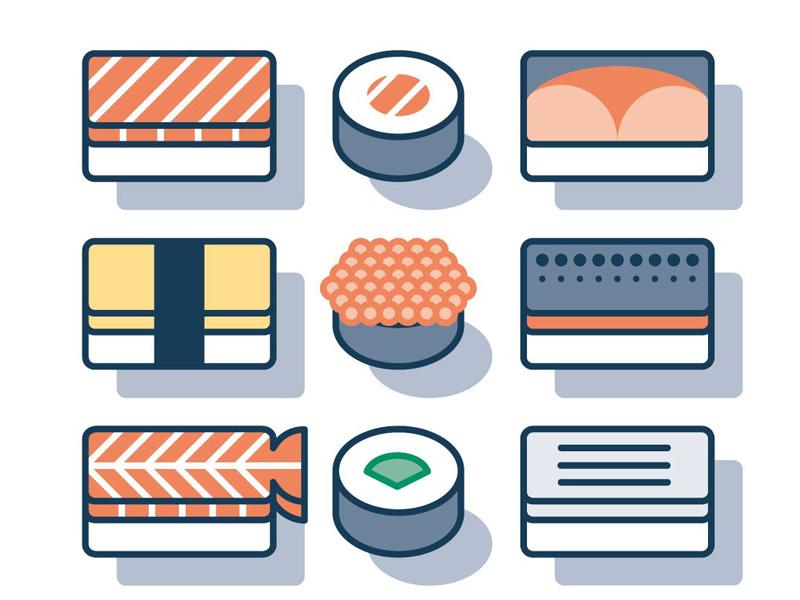 Free Sushi Icon