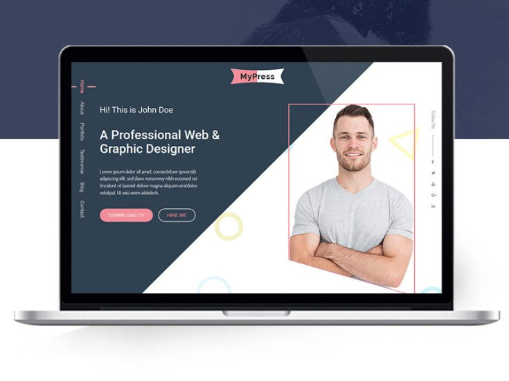 MyPress PSD Template