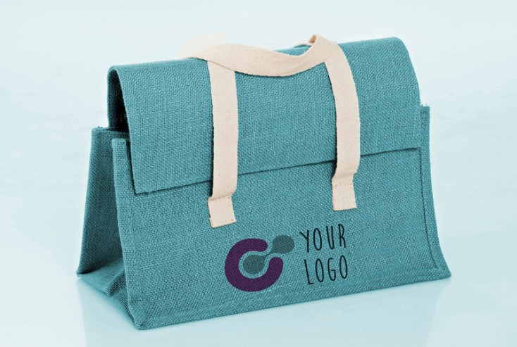 Free Raw Cloth bag Mockup PSD