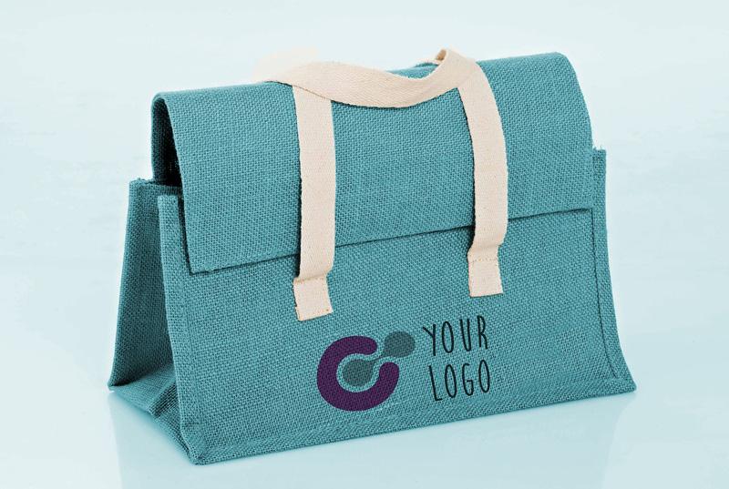 Raw Cloth bag Mockup PSD
