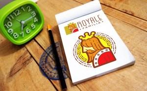 Free Realistic Sketch Book Mockup