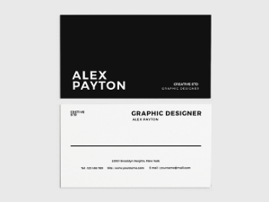 Simple Stylish Business Card Template