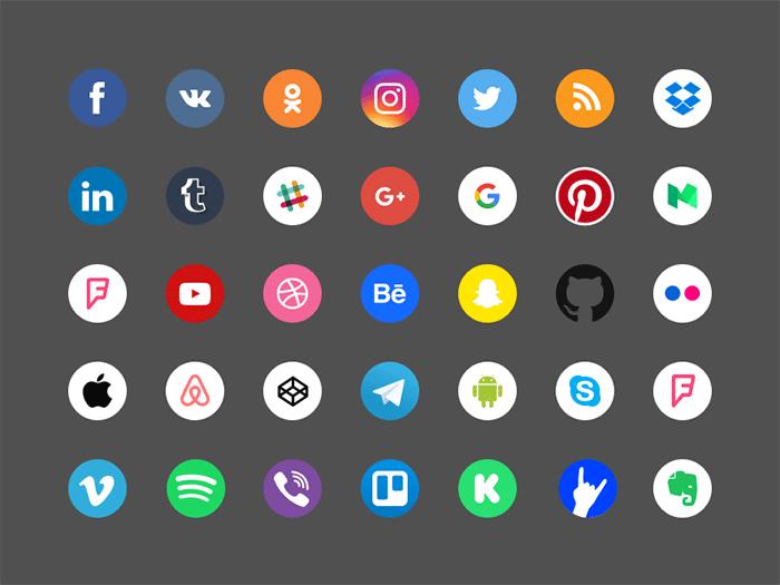 273 Free Social Media Icons