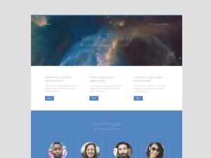 Business HTML5 Landing Page Template