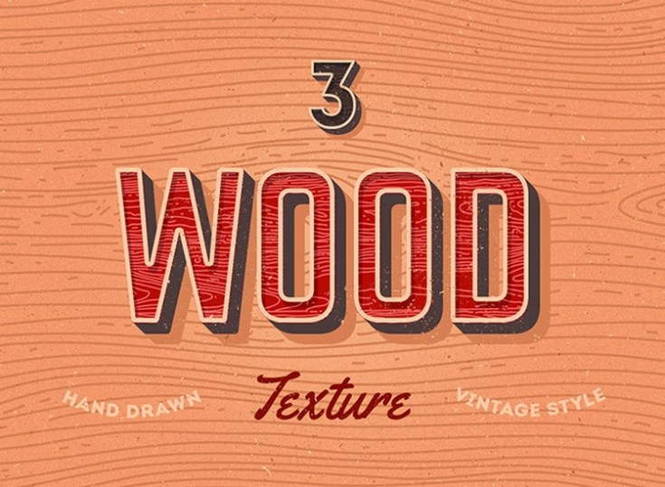 Free Wood Vector Texture