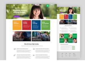 Maya : Course and Free Education PSD Template